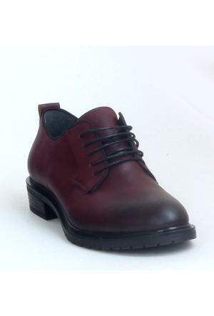 Markazen Oxford Ayakkabı - Bordo