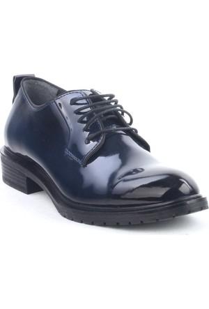 Markazen Rugan Oxford Ayakkabı - Lacivert