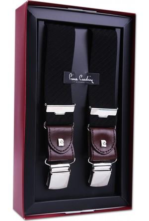Pierre Cardin Siyah Çizğili Pantolon Askısı PA30