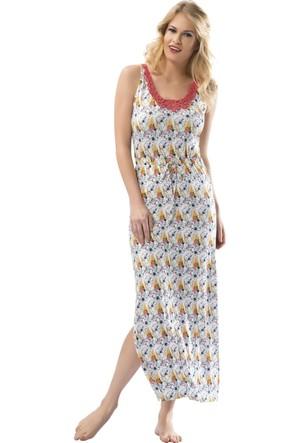 Özkan Bayan Elbise 22404 Sarı