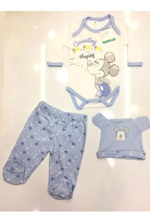 Disney Mickey Mouse Çocuk 3'lü Set