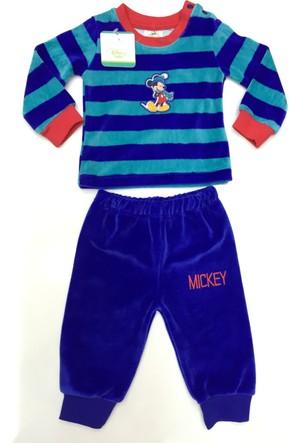 Disney Mickey Mouse Çocuk Kadife Alt Üst Takım