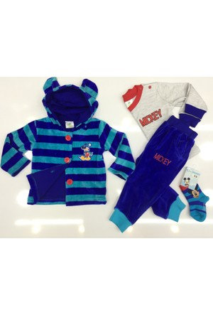 Disney Mickey Mouse Çocuk 4'lü Set