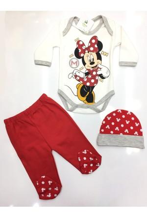 Disney Minnie Mouse 3'lü Çocuk Set