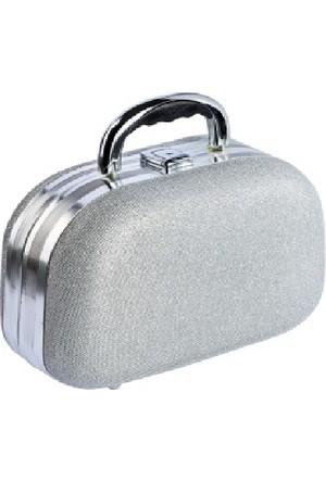 Tarko Lionesse Oval Bavul Tipi Çanta 362 - Simli Gri