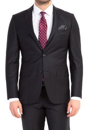 Kiğılı Slim Fit Düz Takım Elbise