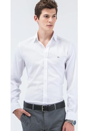 Lacoste Uzun Kollu Beyaz Erkek Gömlek Ch6122.800