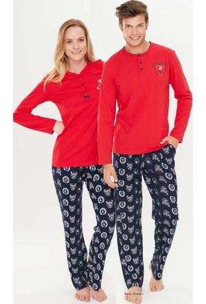 U.S. Polo Assn. Kadın Eş Pijama Takımı 15757