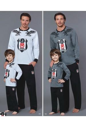 RolyPoly Lisanslı Baba Oğul Beşiktaş Pijama Takım 8550