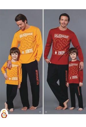 RolyPoly Lisanslı Baba Oğul Galatasaray Pijama Takım 8576