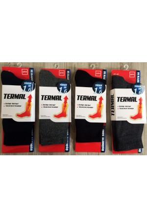 Şirin Erkek 6'Li Paket Termal Çorap 9550