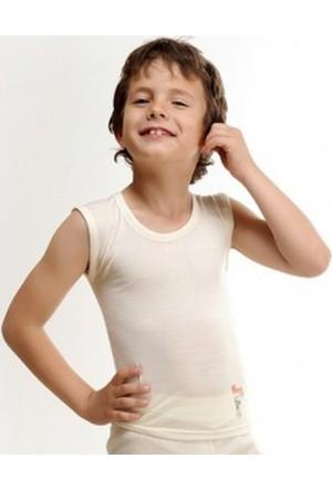 Elif Çamaşır Hasyün Erkek Çocuk Yün Termal Atlet