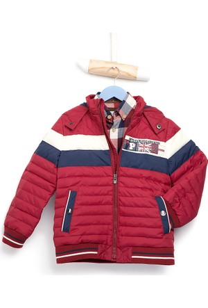 U.S. Polo Assn. Erkek Çocuk Marmion Mont Kırmızı