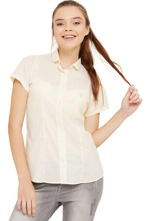 U.S. Polo Assn. Int-Out Kadın Gömlek
