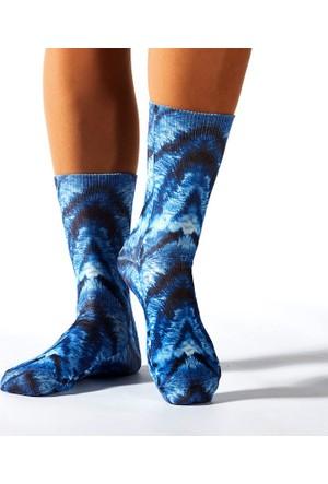 Wigglesteps Blue Fur Bayan Çorap