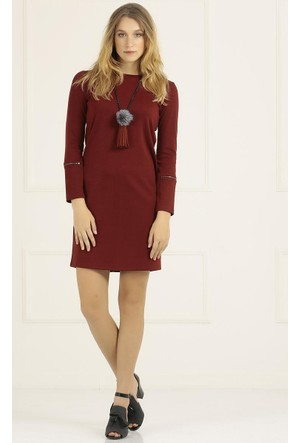 Faik Sönmez Örme Elbise 33154