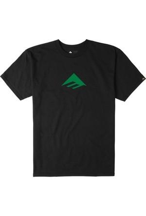 Emerica Emerica Triangle 71 Black Green Tişört