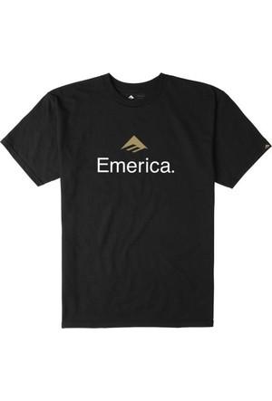 Emerica Emerica Skateboard Logo Black Tişört