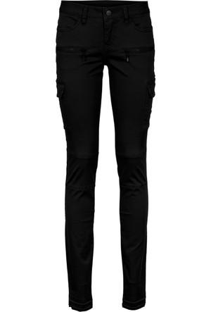 Rainbow Siyah Skinny Kesim Kargo Pantolon