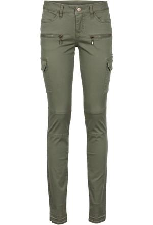 Rainbow Yeşil Skinny Kesim Kargo Pantolon