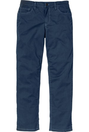 Bpc Selection Mavi Termal Streç Twill Pantolon Regular Fit N - Beden