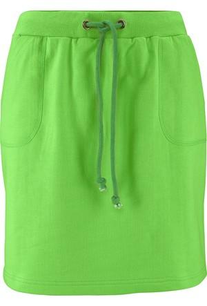 Bpc Bonprix Collection Yeşil Sweat Etek