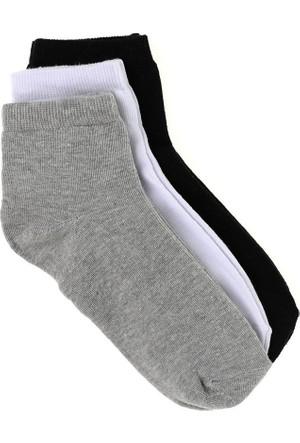 Elif Çamaşır Ekonomik Erkek Patik Çorap Beyaz