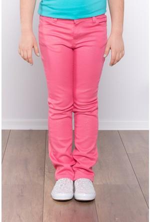 Ottomama Kız Çocuk Simli Pantolon Pembe Renk