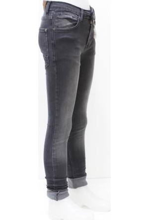 Ottomama Slim Fit Siyah Kız Çocuk Pantolonu