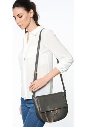 David Jones Kadın Flap Askılı Çanta Gri
