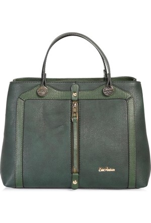 Esta Rubon 44410 Kadın El Çantası Yeşil