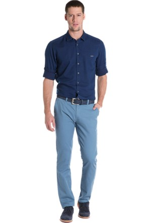 U.S. Polo Assn. Kr016S-Ing Erkek Pantolon Mavi 50154879-Vr073