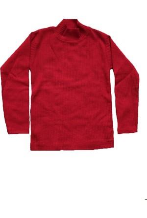 Shecco&Babba Kız Çocuk Uzun Kollu T-Shirt Kırmızı