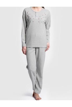 Monika Şardonlu Kadın Pijama Takımı 1926