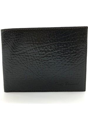 Tony Bellucci T121-886 Kahverengi Gerçek Deri Erkek Cüzdan