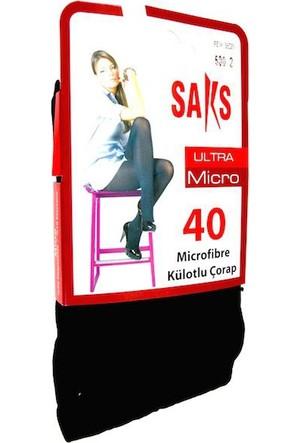 Saks Ultra Micro 40Den 500-Siyah
