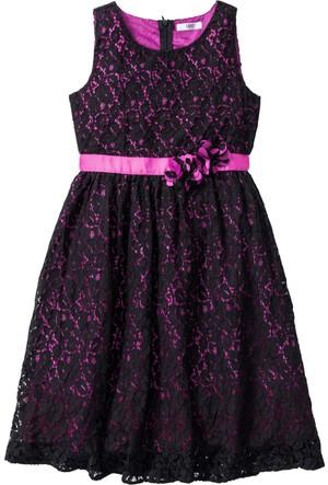 Bpc Bonprix Collection Siyah Dantelli Elbise