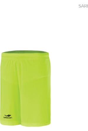 Lescon 14T-4027 Neon Sarı Erkek Futbol Şortu