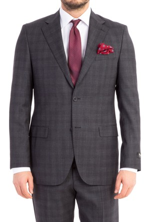 Kiğılı İtalyan Ekose Takım Elbise 7B1Z1882
