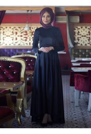 Zümra Abiye Elbise - Siyah - Nurbanu Kural