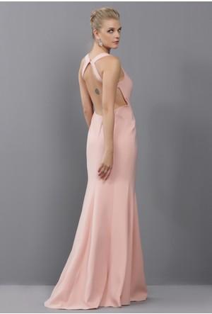 Pierre Cardin Sırtı Açık Elbise 54455