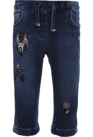 Soobe Pop Girls Pantolon Mavi (56 cm-3 Yaş)