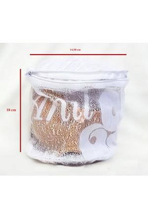 Anıl 2 Adet Fermuarlı Çamaşır - Sütyen Yıkama Filesi