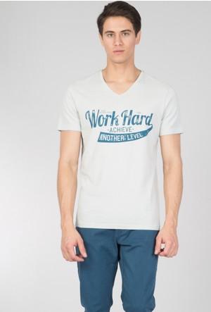 Colin's Gri Erkek T-Shirt Kısa Kol
