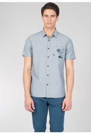 Colin's Mavi Erkek Kısa Kollu Gömlek