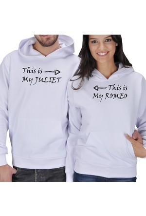 Tisho Juliet - Romeo Sevgili Kapüşonlu Sweatshirt