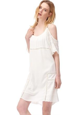 Dilvin 9622 Brode Detaylı Elbise