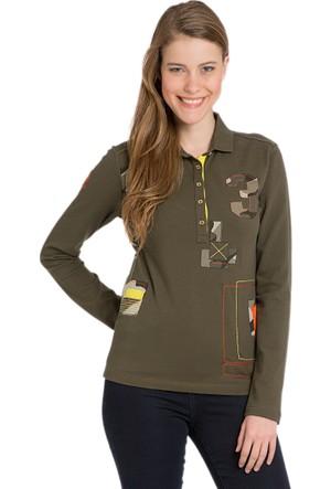 U.S. Polo Assn. Tatum Kadın Sweatshirt Yeşil