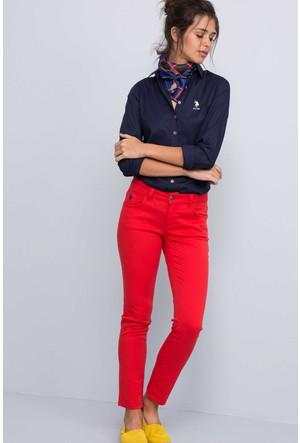 U.S. Polo Assn. Tina7Y Kadın Spor Pantolon Kırmızı