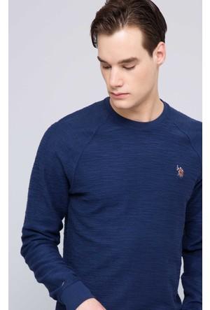 U.S. Polo Assn. Erkek Ponse Sweatshirt Lacivert